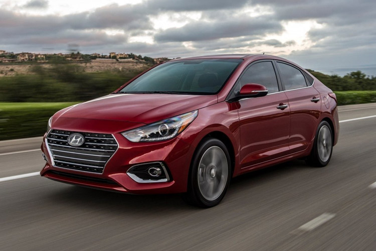 HYUNDAI ACCENT 2019 AT