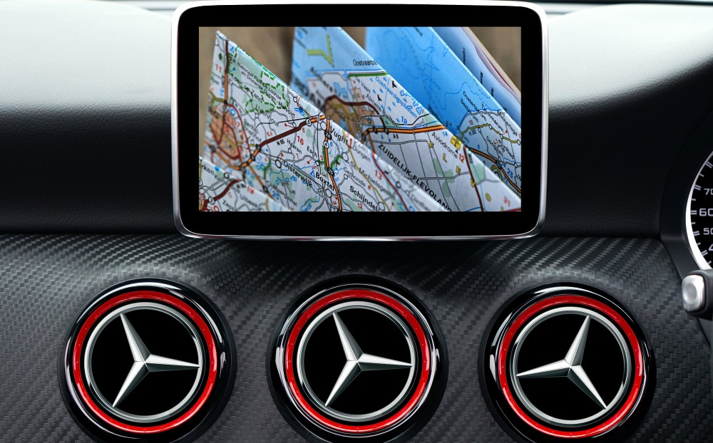 "New Share ""Rent a car and get a GPS-navigator for free"""