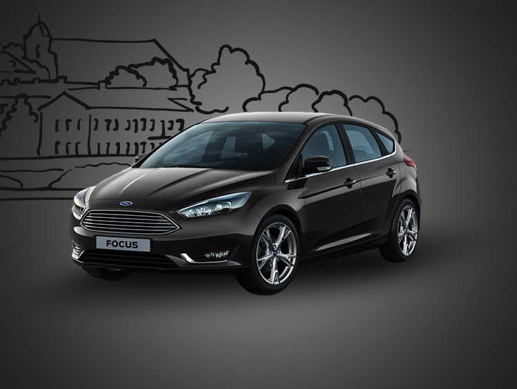 Прокат Ford Focus HatchBack 2018
