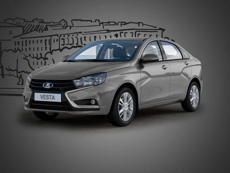 Lada Vesta 2020 MT (tow hitch)